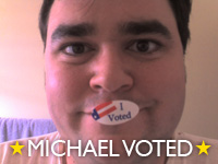 michael voted