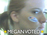megan voted