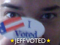 jeff voted