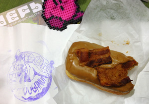 Voodoo Doughnuts Maple Bacon Bar