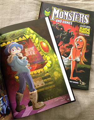Monsters & Dames book Schuetze artwork