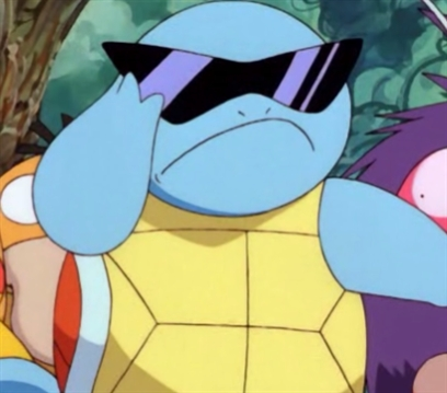 Squirtle With Sunglasses 81