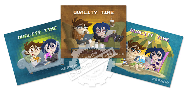 Quality Time 2.0 Prints: 3-Pack
